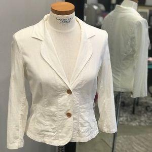 Guess❓White Linen/Cotton Blazer